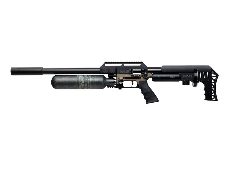 FX Impact M3 600mm Bronze left profile for sale at High Pressure Pneumatics