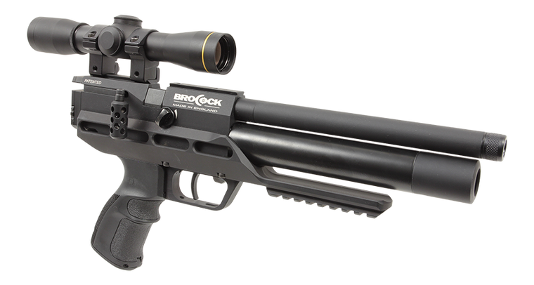 Brocock Atomic XR Air Pistol/Compact Carbine 22Cal