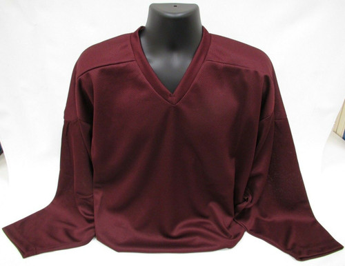 Firstar Hockey Practice Jersey Maroon Large
