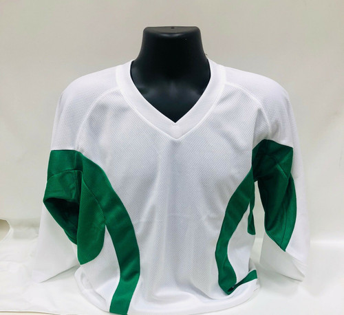 Firstar Rink Flow Hockey Jersey Color White / Kelly Green