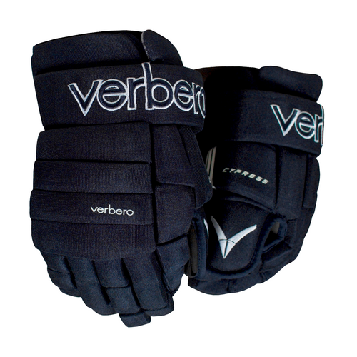 Verbero Cypress 4-Roll Jr Navy Hockey Gloves