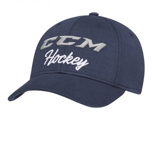 CCM Academy Flex Cap Adult Hat Blue