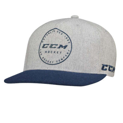 Show off your CCM colours with the Academy Flat Visor Snapback Cap.