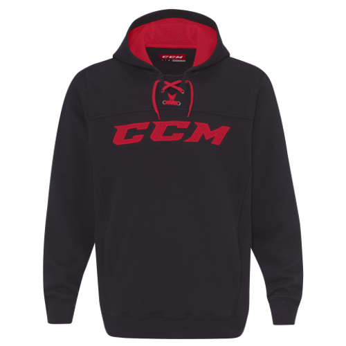 CCM - True To Hockey Pullover Hoodie Sweatshirt with Lace