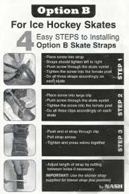 Strap - A&R - Ice Hockey Skate Straps  - Junior