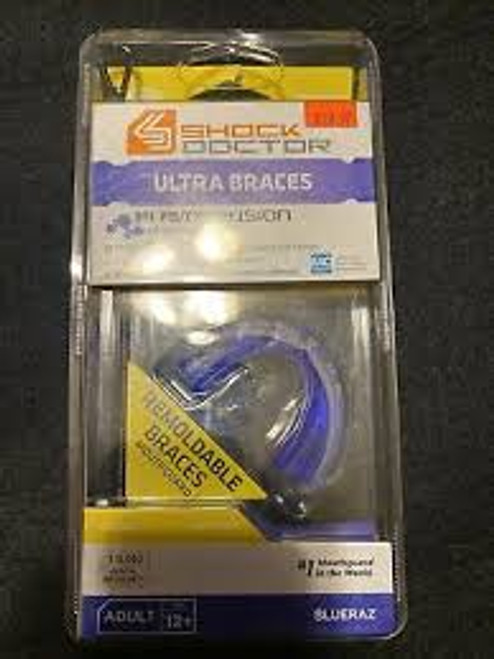 Mouthguard - Ultra Braces - Flavor Fusion - Blue Raz Adult