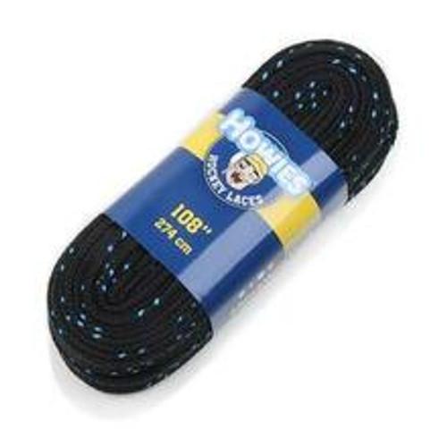 """Laces - Howies - 108"""" - Black/Blue"""