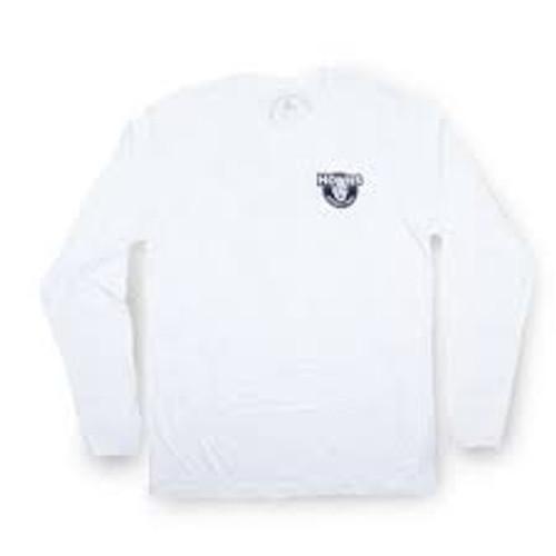 Shirt - Howies - White - Lake Superior - Long Sleeve