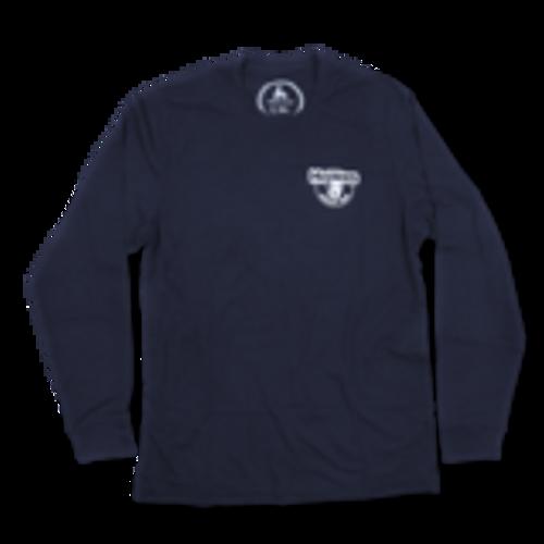 Shirt - Howies - Lake Superior - Long Sleeve - Navy