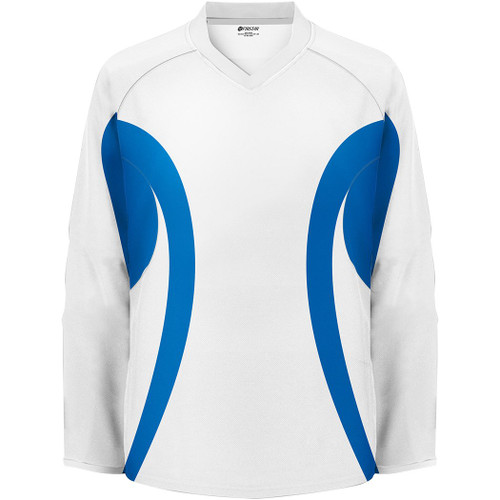 Firstar Hockey Practice Jersey White / Royal Blue