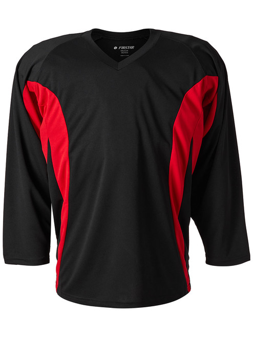Firstar Hockey Jersey Black  / Red