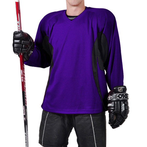 Firstar Rink Flow Hockey Jersey Purple with Black