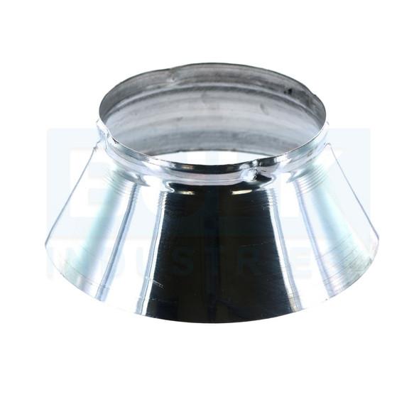 401 aluminum standard fire sprinkler escutcheon skirt chrome