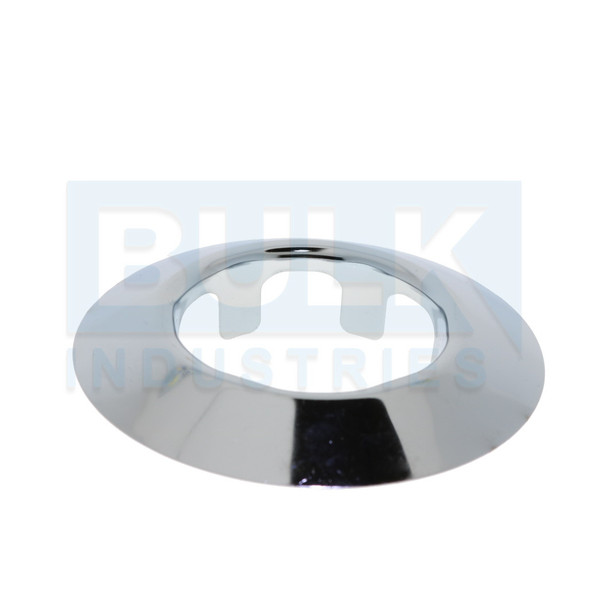 401 Steel Tapered Fire Sprinkler Escutcheon Skirt - Chrome