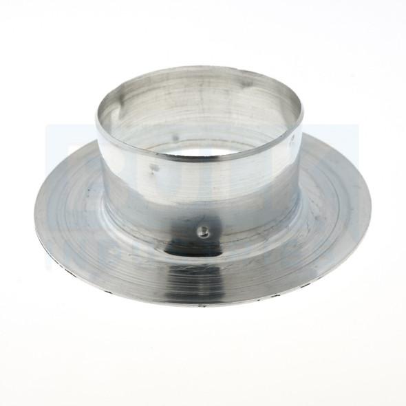501 Aluminum Recessed Escutcheon - Chrome