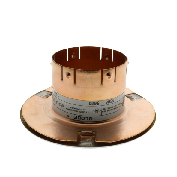 """Globe The Inch 3 5/16"""" Concealed Escutcheon 1 11/16""""ID - Available In Multiple Colors And Temperatures GL5606 GL5607 GL5653 GL5658"""