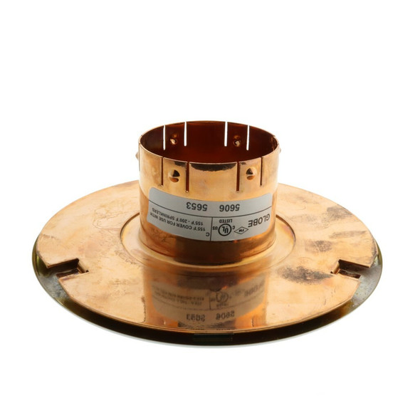 """Globe The Inch Seismic Concealed Escutcheon 4 1/2"""" - Available In Multiple Colors And Temperatures GL5606 GL5653"""
