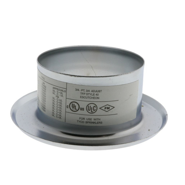 Tyco Style 40 Recessed Fire Sprinkler Escutcheon