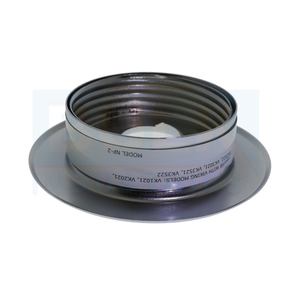 Viking Recessed NP-2 Thread On Escutcheon - Available In Multiple Colors And Head Sizes