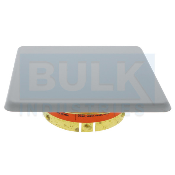 Viking Concealed 23179 Thread On Square Cover Plate - Available In Multiple Colors And Temperatures