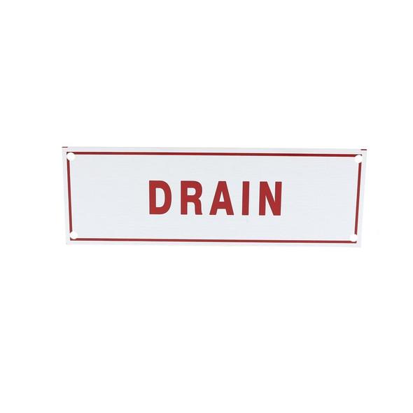 Drain Sign