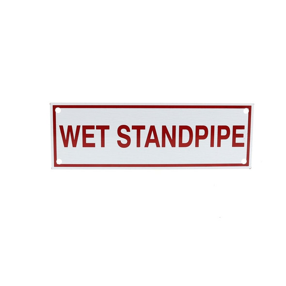 Wet Standpipe Sign