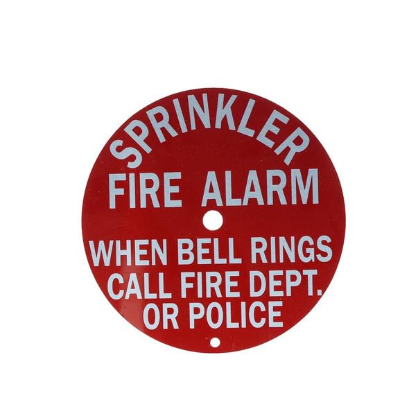 Call Fire Dept.Sign