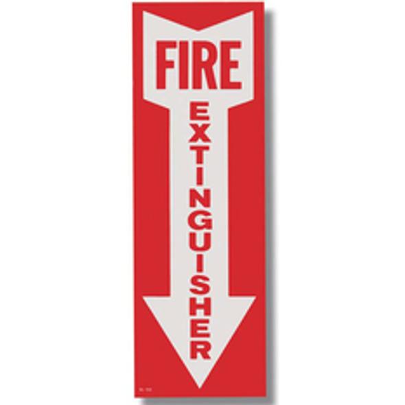 Fire Extinguisher Arrow Sign