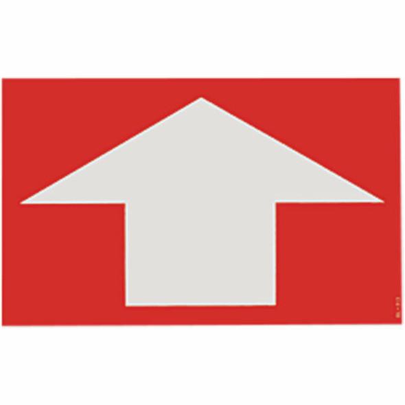 "Directional Arrow Sign, Vinyl Sticker, Decal 8"" x 5"""