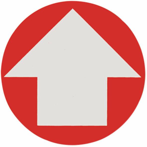 "Directional Arrow Sign, Vinyl Sticker, Decal 4"""