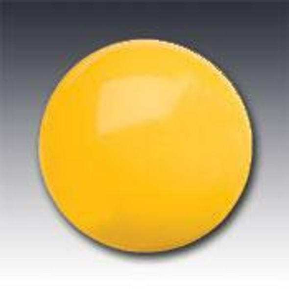 """Plastic Non-Reflective Button Type 929 AY Round Yellow 4"""" Pavement Marker"""