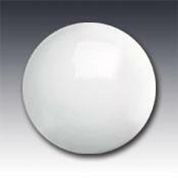 "Plastic Non-Reflective Button Type 929 AY Round White 4"" Pavement Marker"