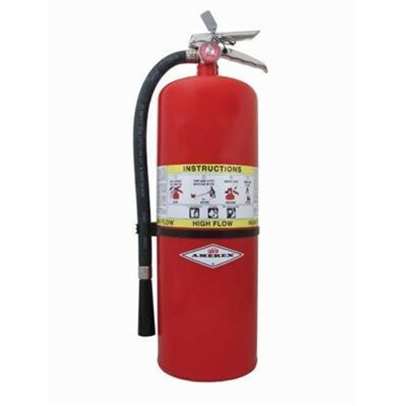 Amerex 760 High Flow Fire Extinguisher, ABC, 20lb, 4A60BC With Wall Bracket Manufacturer Part Number: 20901