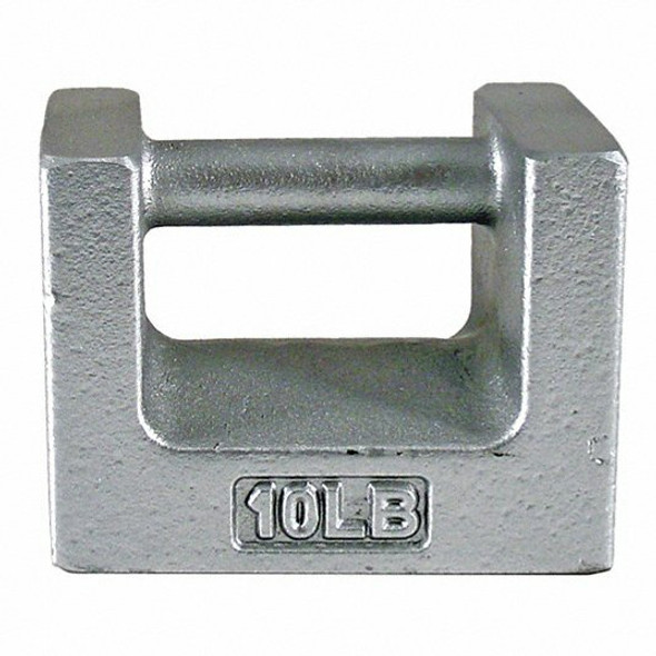 Scale Calibration Weight, Class 7, 10lb