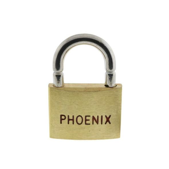 Breakaway Lock With Break Shackle - Phoenix Keyed Alike Brass