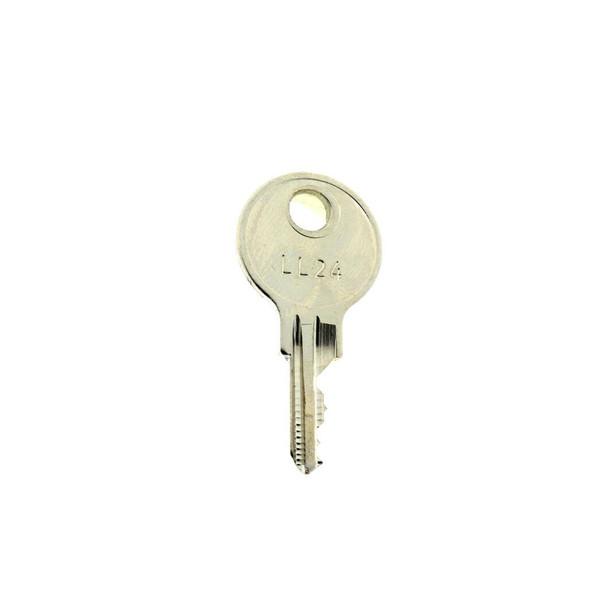Key Replacement LL24 - For JL, Samson, Potter Roemer Cam Locks