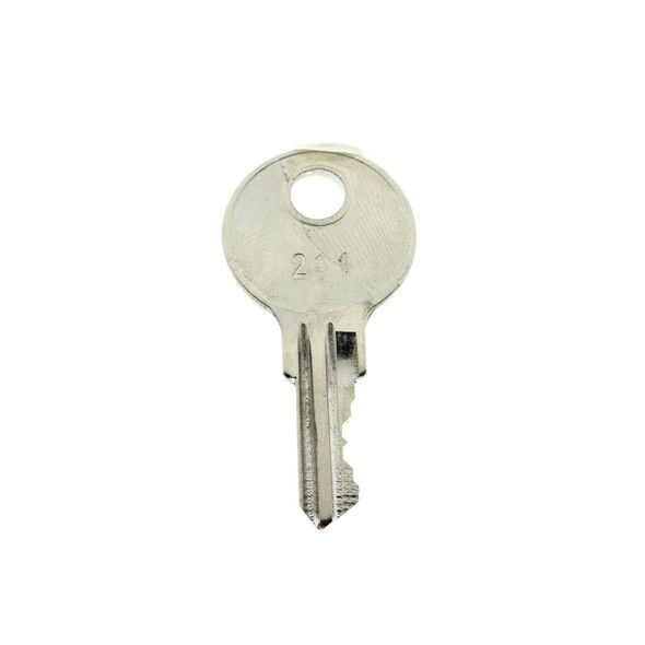 Key Replacement 211 For Thomas Enterprises Cam Locks