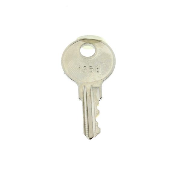 Key Replacement 1358 For Rome Metal Cam Locks