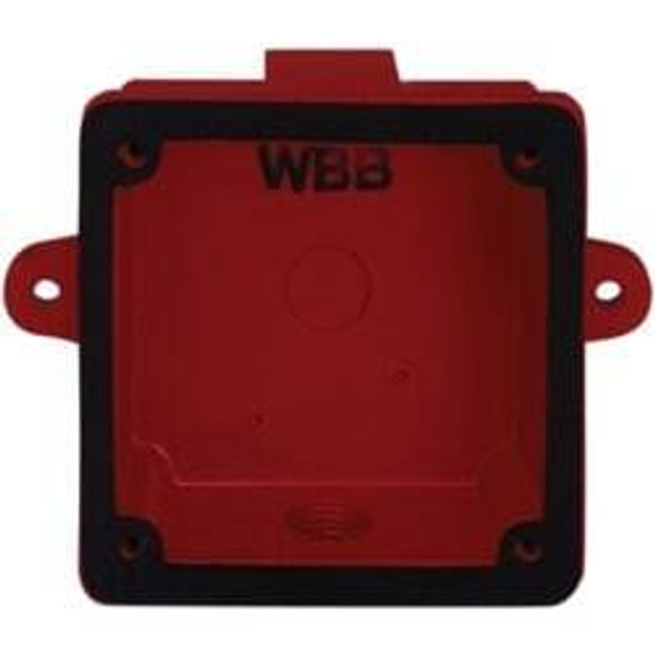 System Sensor WBB Weatherproof Back Box For Alarm Bell Outdoor Installation