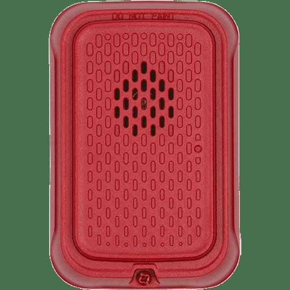 System Sensor HGRL L Series Compact Wall Horn, Red, Plain No Marking