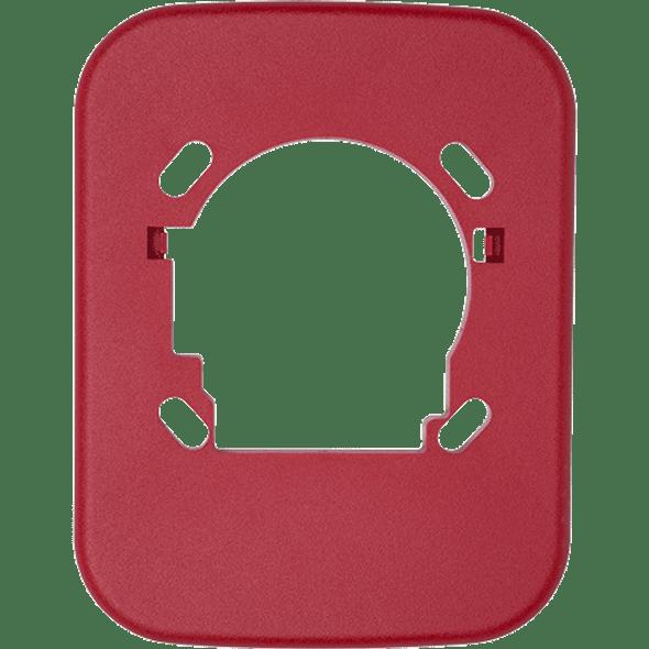 "System Sensor TR-2 L Series Universal Wall Trim Ring, Red, 6.3"" x 8.2"""