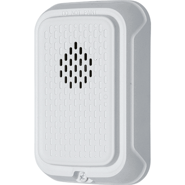 System Sensor HGWL Compact Wall Horn, White, Plain No Marking