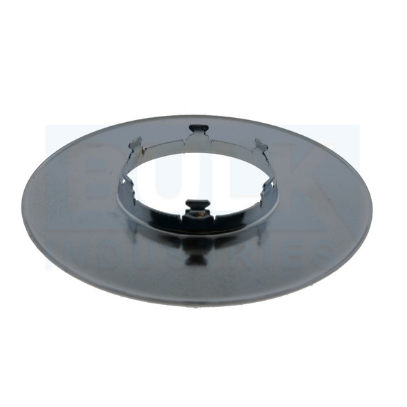 RASCO/Reliable XL Commercial Flat Escutcheon - Chrome