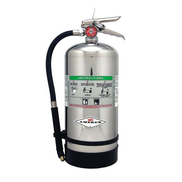 Amerex B260 Fire Extinguisher, K Class, 6L, 2AK, With Wall Bracket