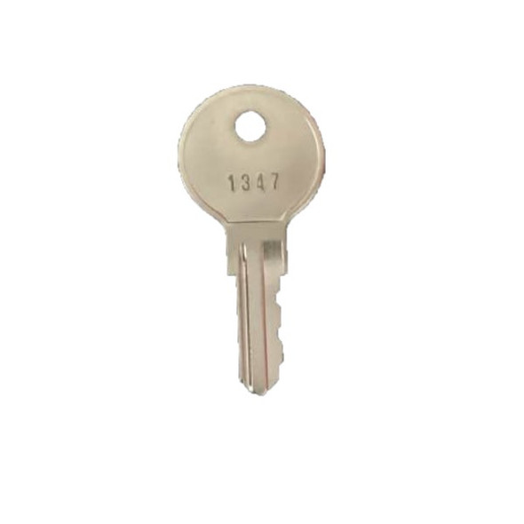 Key Replacement 1347 For Silent Knight L8 Fire Alarm Cabinets