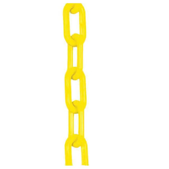 Valve Chain, Outdoor Yellow Plastic, 100ft