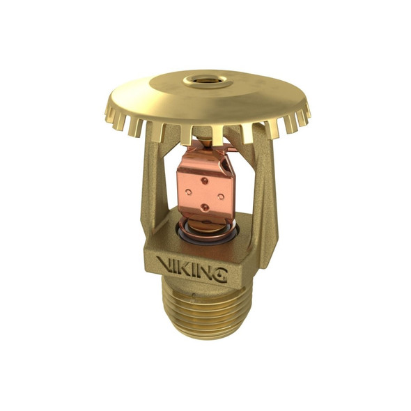 Fire Sprinkler Head, Viking Model M, VK108, 5.6K, Fusible, Upright, Standard Response - Available In Multiple Colors and Temperatures