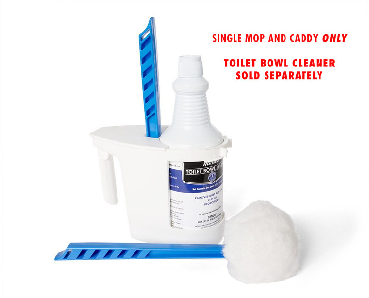 Toilet Bowl Caddy and Mop