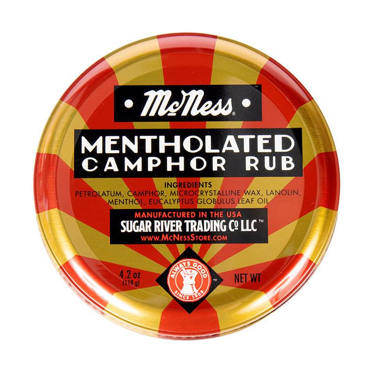 Mentholated Camphor Rub