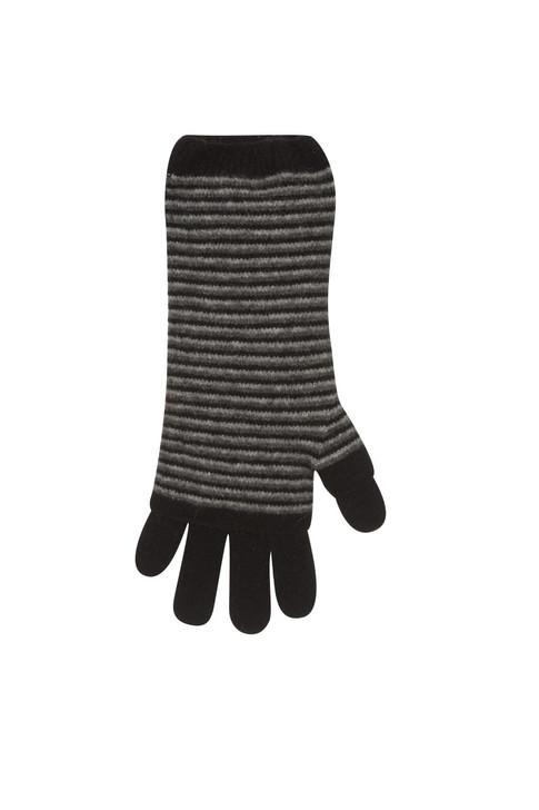 3 Way Glove Possum Merino Wool by Native World NZ in Black
